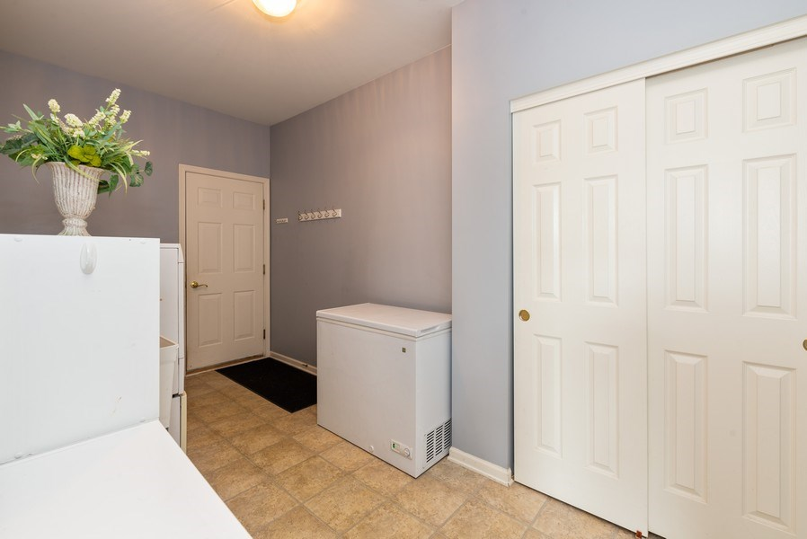 Real Estate Photography - 3172 Humbolt Avenue, Elgin, IL, 60124 - Laundry Room