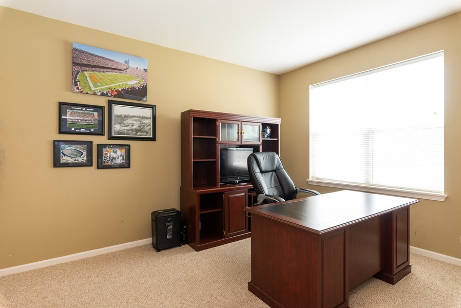 Real Estate Photography - 3172 Humbolt Avenue, Elgin, IL, 60124 - Office