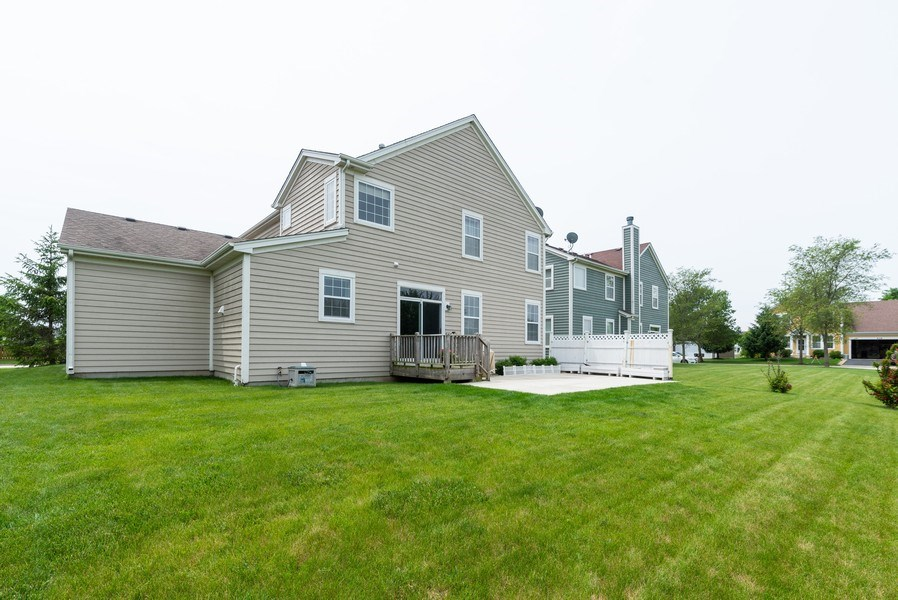 Real Estate Photography - 3172 Humbolt Avenue, Elgin, IL, 60124 - Rear View