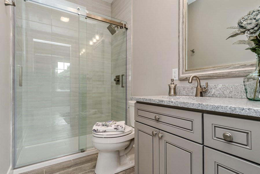 Real Estate Photography - 706 Wellner Road, Naperville, IL, 60540 - 3rd Bathroom