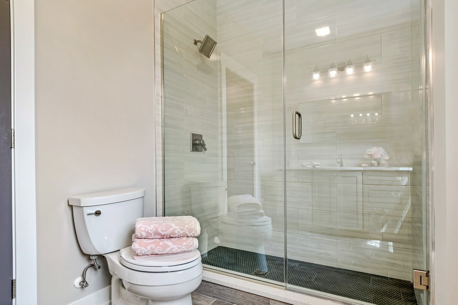Real Estate Photography - 706 Wellner Road, Naperville, IL, 60540 - 4th Bathroom