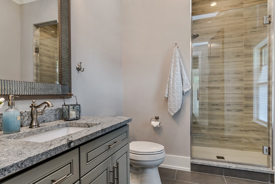 Real Estate Photography - 706 Wellner Road, Naperville, IL, 60540 - 5th Bathroom