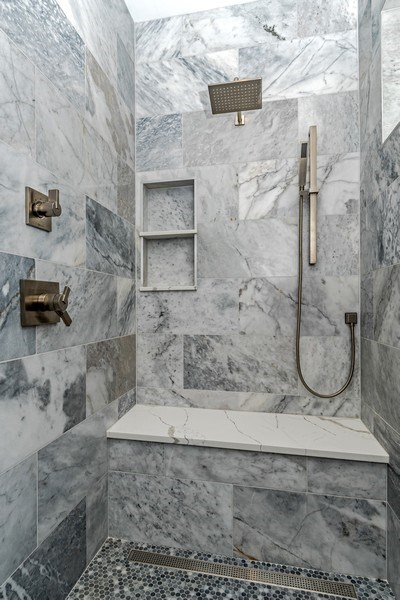 Real Estate Photography - 706 Wellner Road, Naperville, IL, 60540 - Master Bathroom