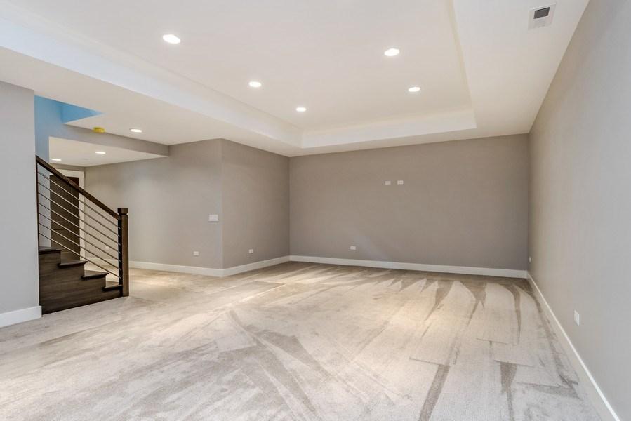 Real Estate Photography - 706 Wellner Road, Naperville, IL, 60540 - Basement