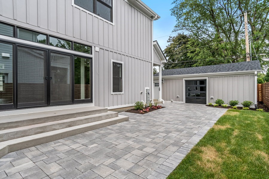 Real Estate Photography - 706 Wellner Road, Naperville, IL, 60540 - Back Yard