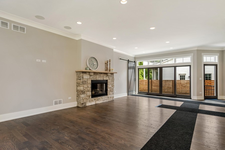 Real Estate Photography - 706 Wellner Road, Naperville, IL, 60540 - Family Room