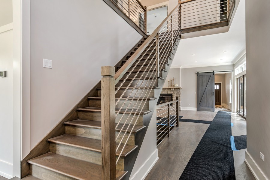 Real Estate Photography - 706 Wellner Road, Naperville, IL, 60540 - Foyer