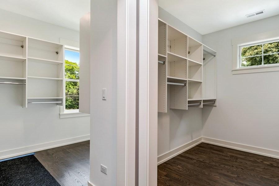 Real Estate Photography - 706 Wellner Road, Naperville, IL, 60540 - Master Bedroom Closet
