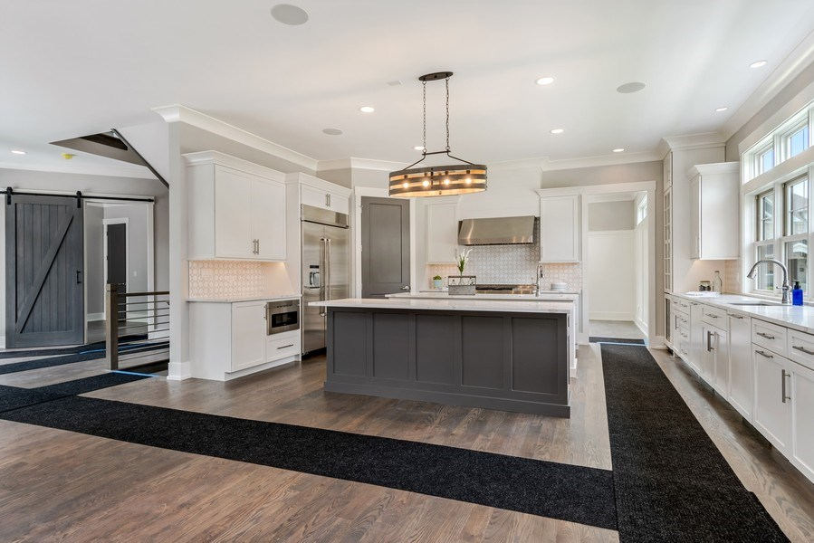 Real Estate Photography - 706 Wellner Road, Naperville, IL, 60540 - Kitchen