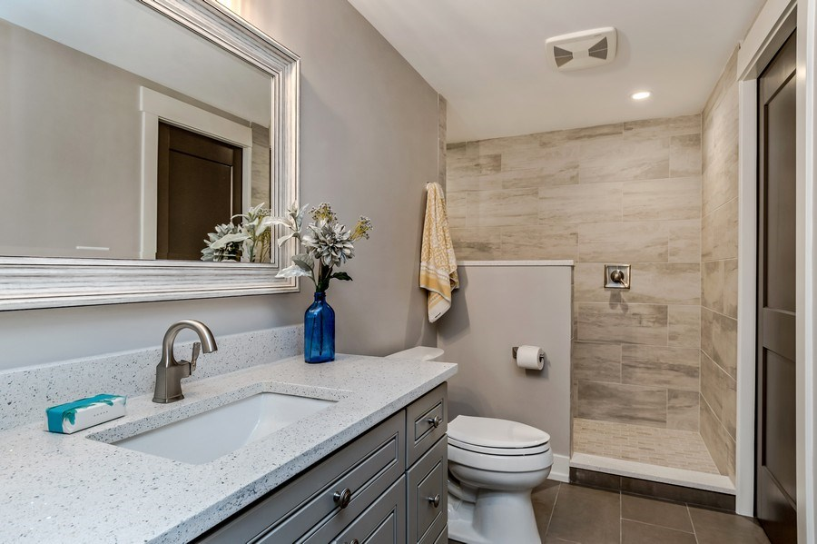 Real Estate Photography - 706 Wellner Road, Naperville, IL, 60540 - Bathroom