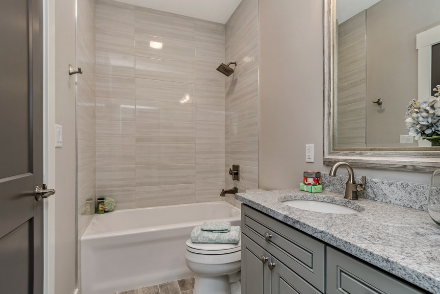 Real Estate Photography - 706 Wellner Road, Naperville, IL, 60540 - 2nd Bathroom