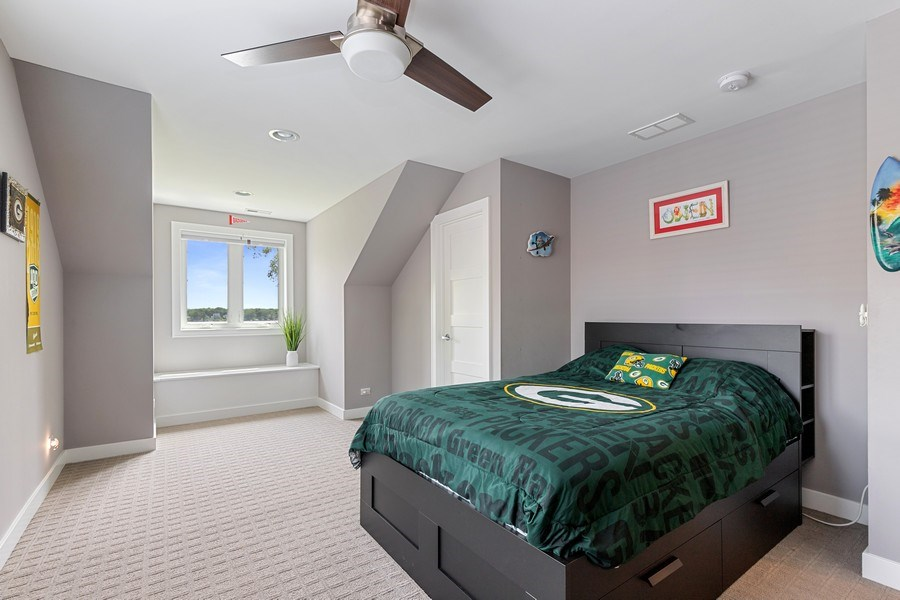 Real Estate Photography - 40669 North Newport Drive, Antioch, IL, 60002 - 2nd Bedroom