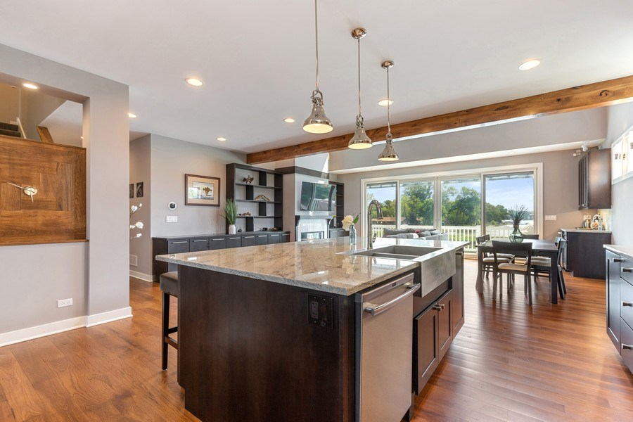 Real Estate Photography - 40669 North Newport Drive, Antioch, IL, 60002 - Kitchen / Breakfast Room