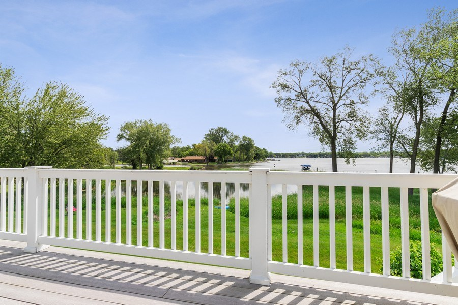 Real Estate Photography - 40669 North Newport Drive, Antioch, IL, 60002 - Deck