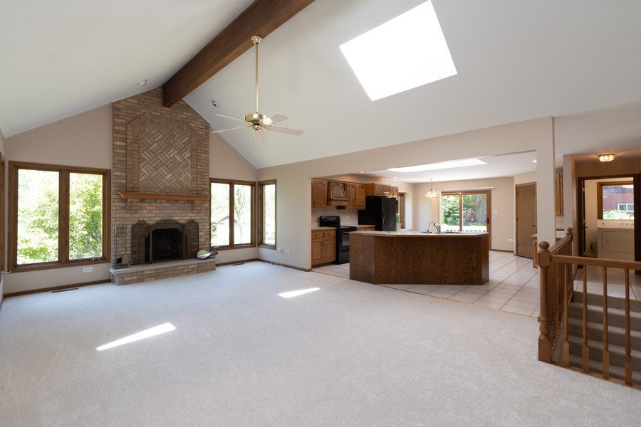 Real Estate Photography - 10840 West 153Rd St, Orland Park, IL, 60467 - Family Room