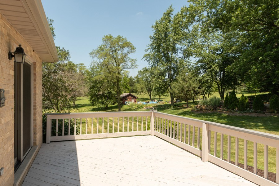 Real Estate Photography - 10840 West 153Rd St, Orland Park, IL, 60467 - Deck