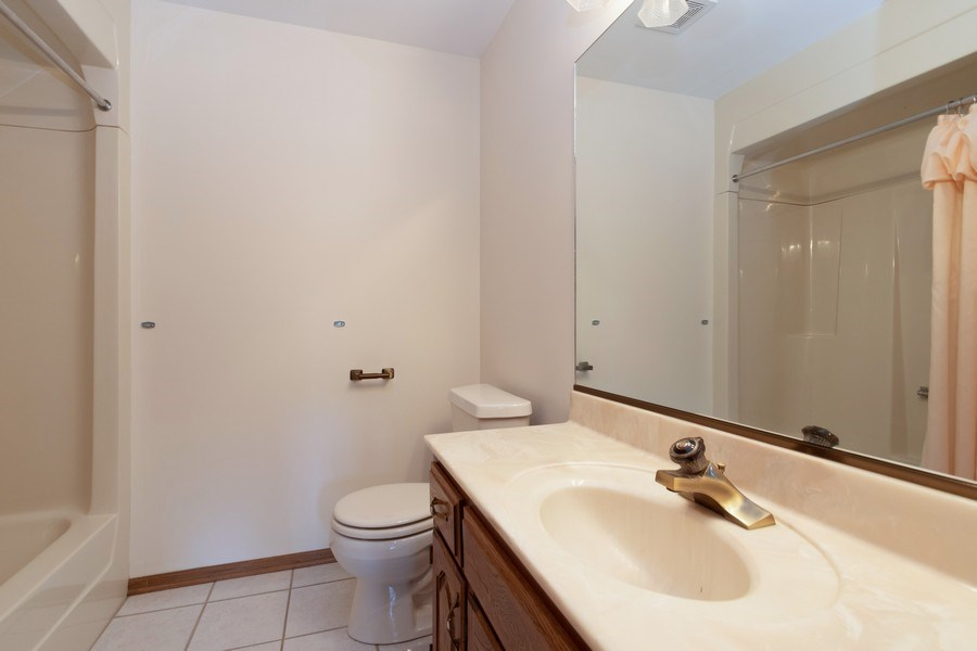Real Estate Photography - 10840 West 153Rd St, Orland Park, IL, 60467 - Bathroom