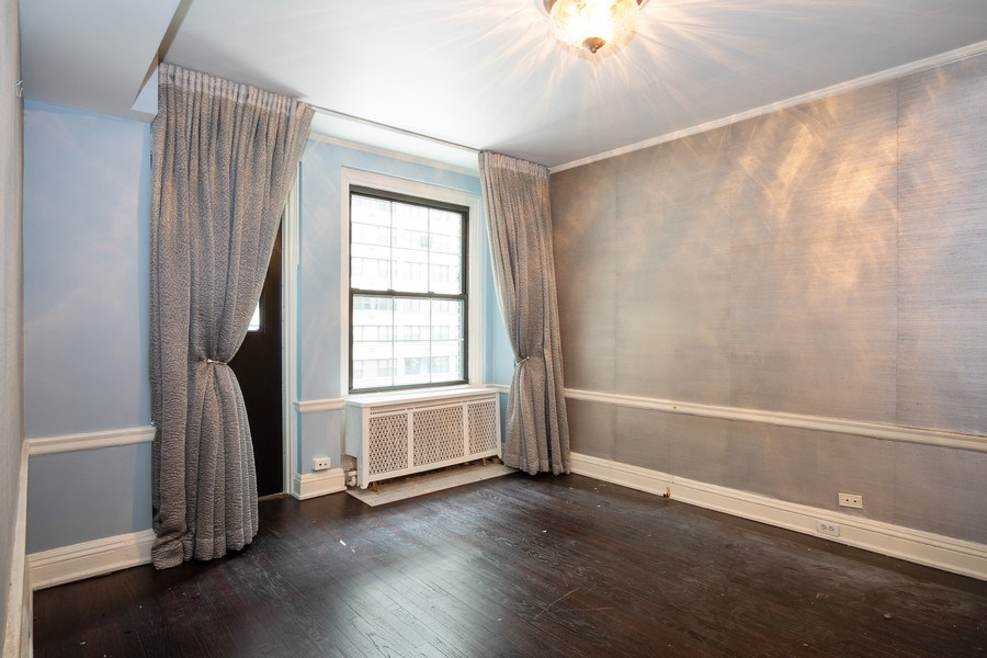Real Estate Photography - 210 E. PEARSON Street, Unit 4D, Chicago, IL, 60611 - Master Bedroom