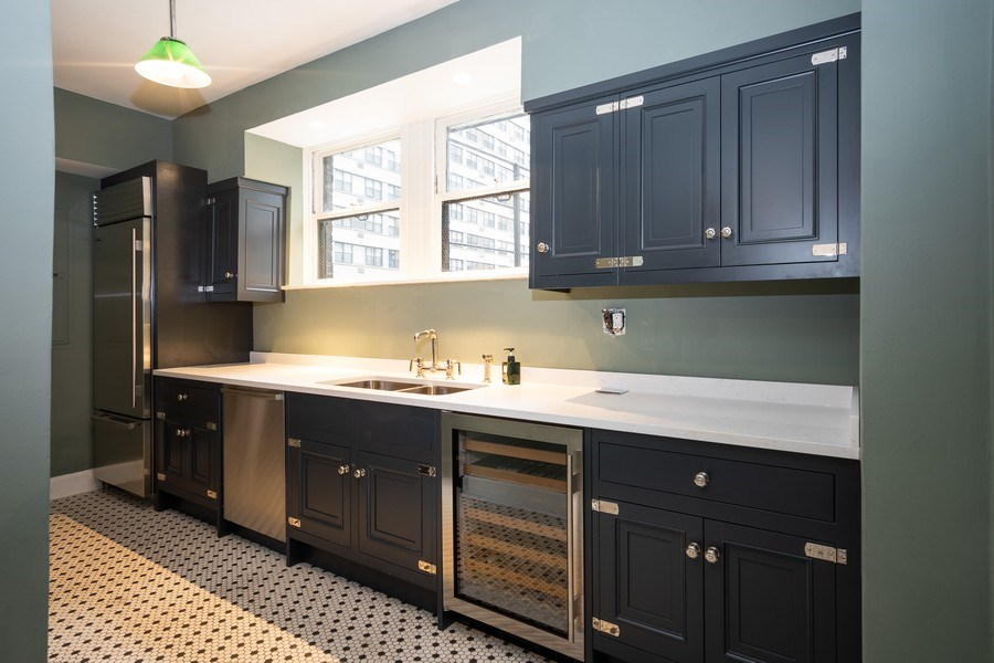 Real Estate Photography - 210 E. PEARSON Street, Unit 4D, Chicago, IL, 60611 - Kitchen