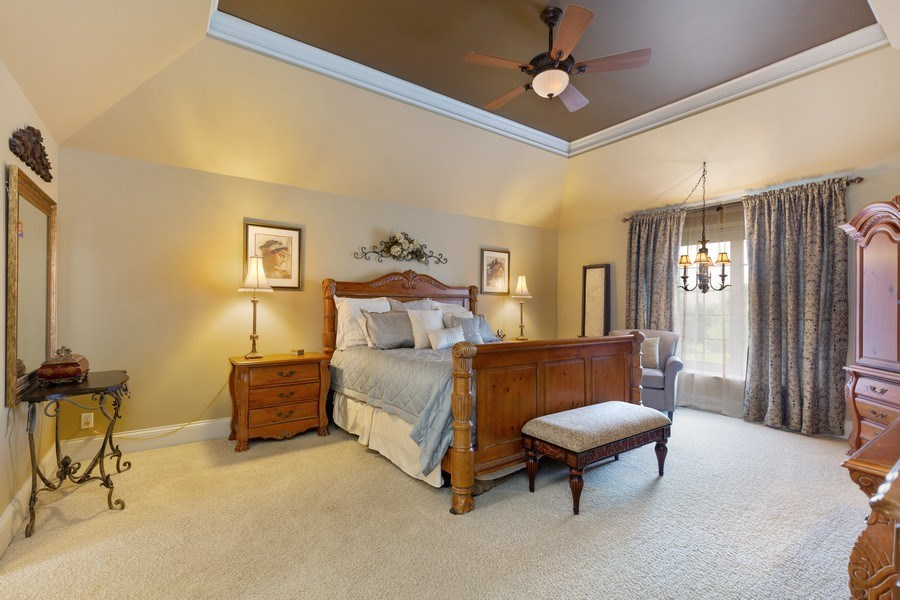 Real Estate Photography - 5620 Meadowbrook Lane, Crystal Lake, IL, 60014 - Master Bedroom