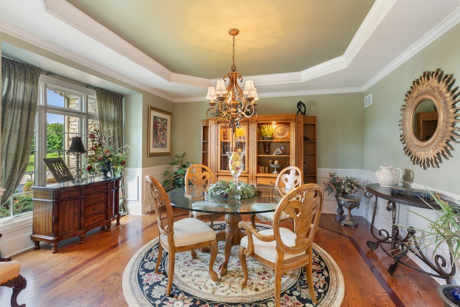 Real Estate Photography - 5620 Meadowbrook Lane, Crystal Lake, IL, 60014 - Dining Room