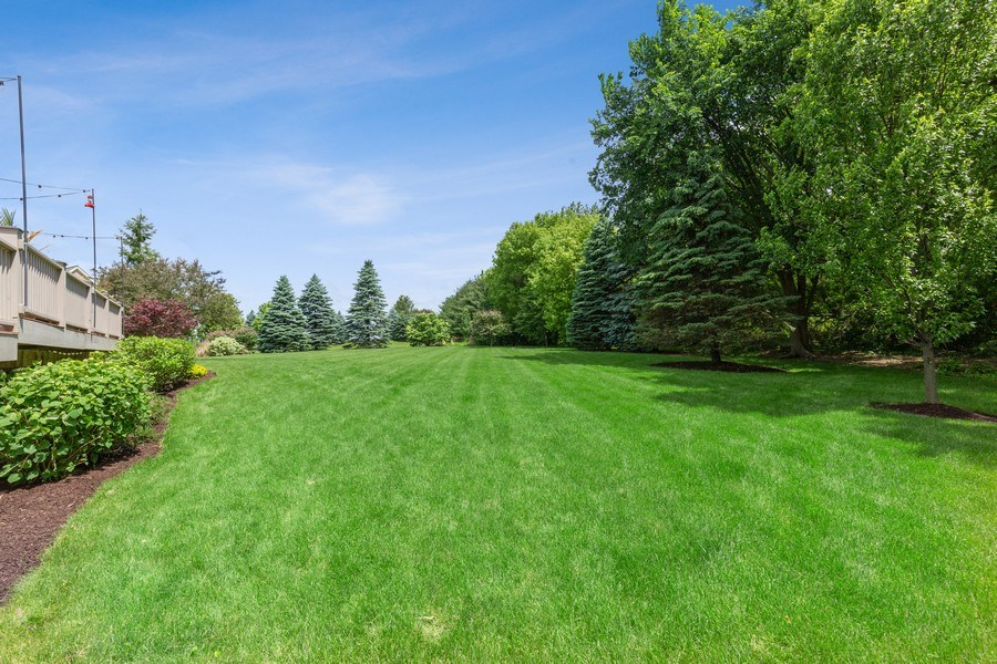 Real Estate Photography - 5620 Meadowbrook Lane, Crystal Lake, IL, 60014 - Back Yard