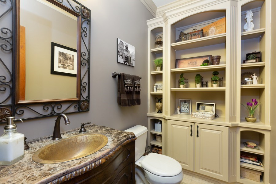Real Estate Photography - 5620 Meadowbrook Lane, Crystal Lake, IL, 60014 - Half Bath