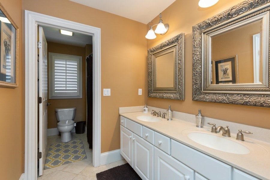 Real Estate Photography - 5620 Meadowbrook Lane, Crystal Lake, IL, 60014 - Bathroom