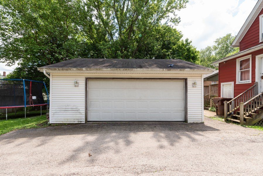 Real Estate Photography - 914 Wicker St, Woodstock, IL, 60098 - Garage