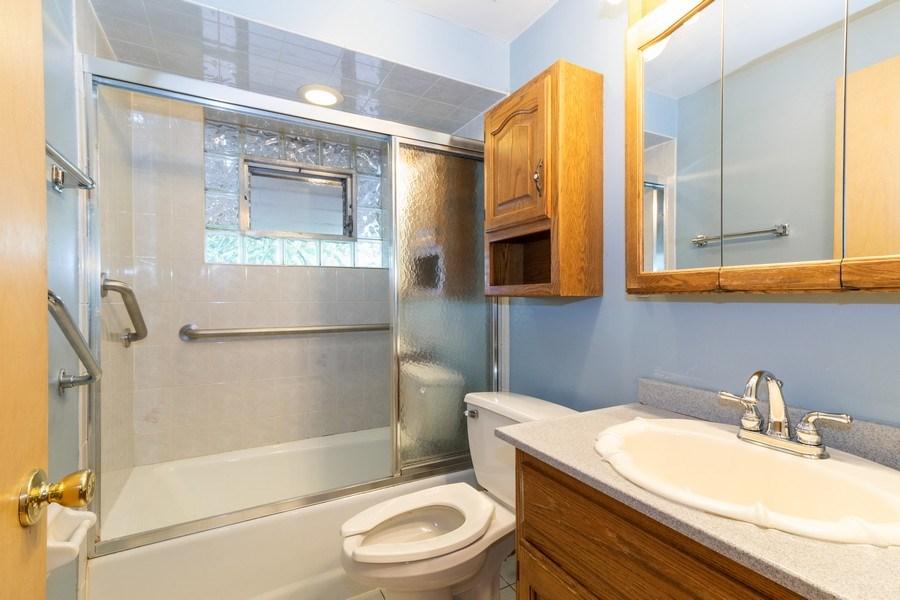 Real Estate Photography - 10850 S. Natchez Avenue, Worth, IL, 60482 - Bathroom
