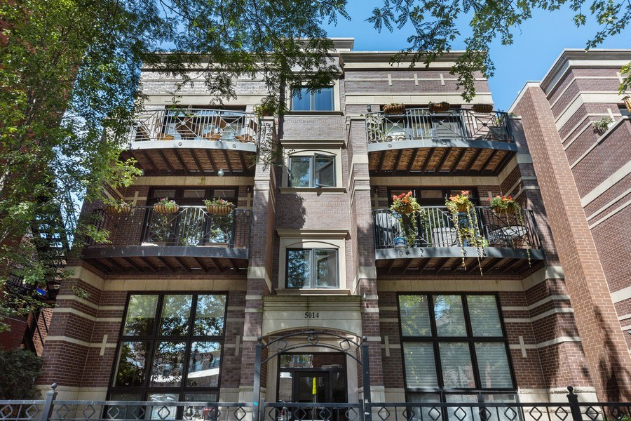 Real Estate Photography - 5014 N. KENMORE Avenue, Unit 3S, Chicago, IL, 60640 - Front View