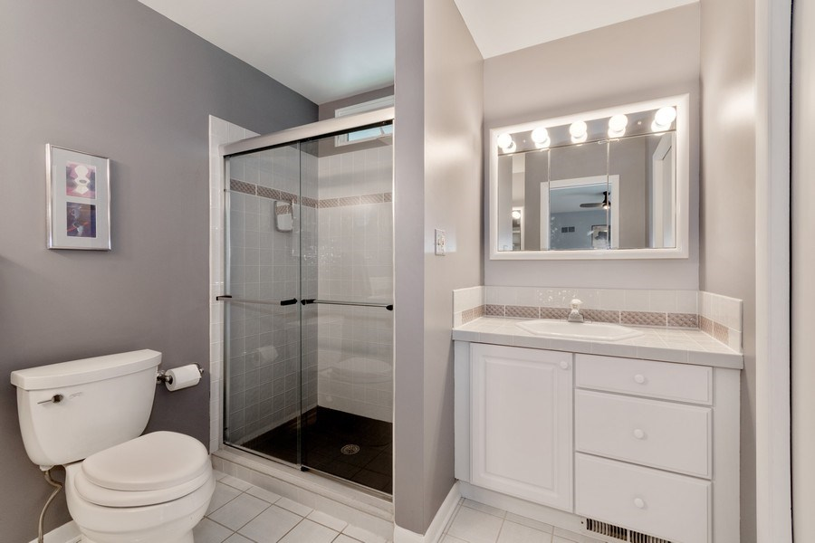 Real Estate Photography - 821 Burning Tree Ln, Naperville, IL, 60563 - His & Hers vanities and WIC in the master bath