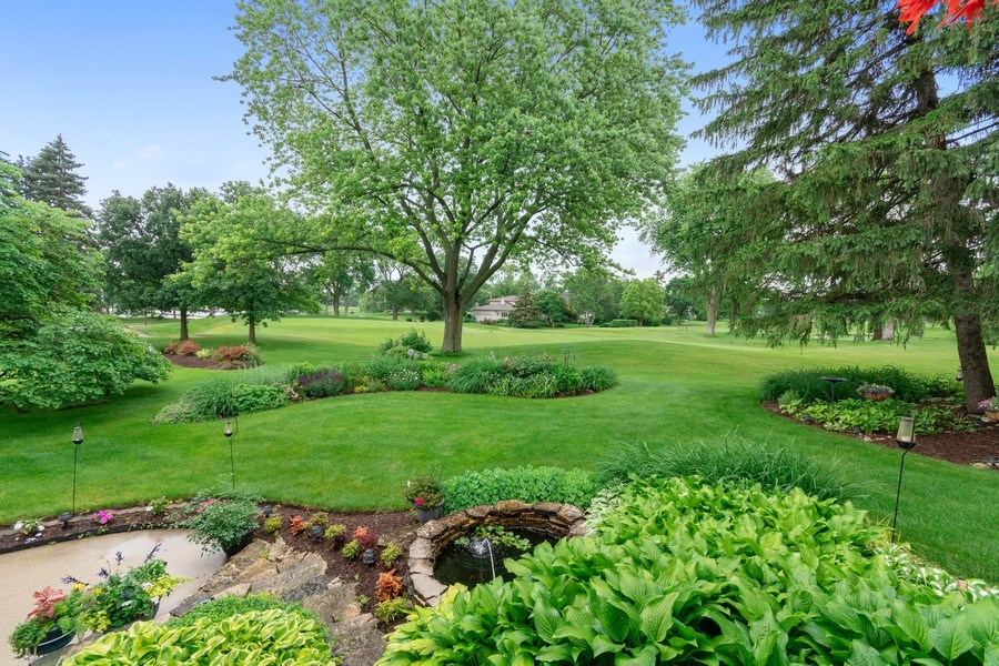 Real Estate Photography - 821 Burning Tree Ln, Naperville, IL, 60563 - Views of both the 15th & 18th fairways! Wow!