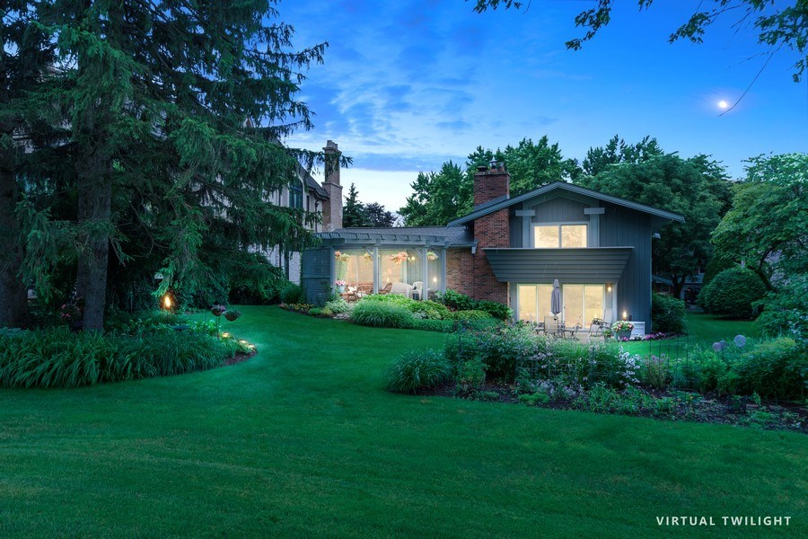 Real Estate Photography - 821 Burning Tree Ln, Naperville, IL, 60563 - Back Yard