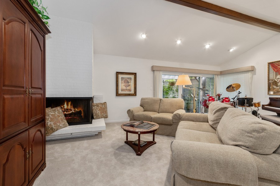 Real Estate Photography - 821 Burning Tree Ln, Naperville, IL, 60563 - Unique mid level living space w/gas FP