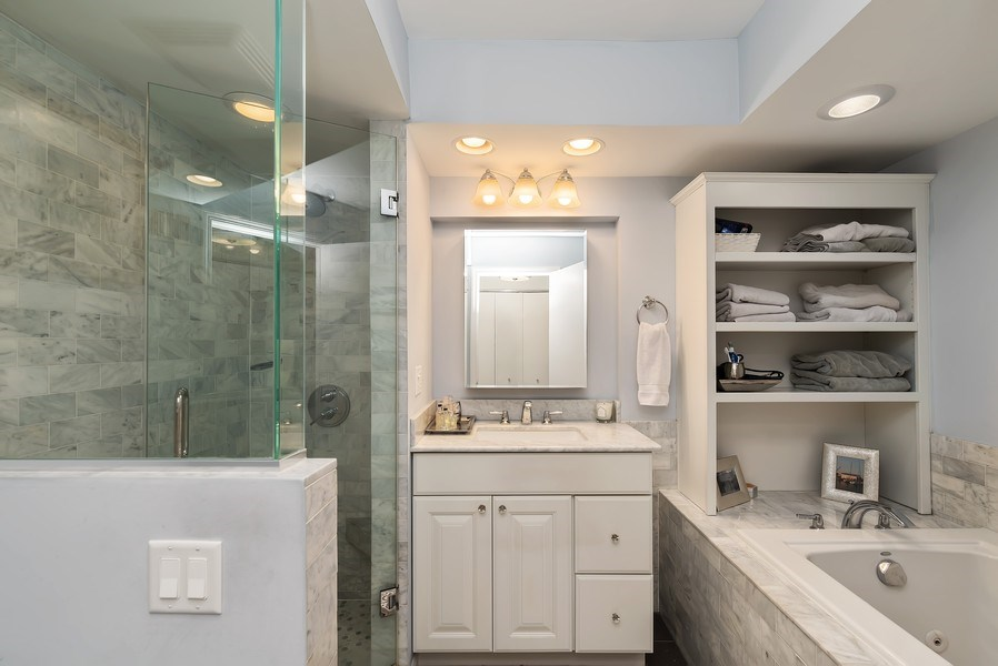 Real Estate Photography - 1720 N. La Salle Drive, Unit 7, Chicago, IL, 60614 - Master Bathroom
