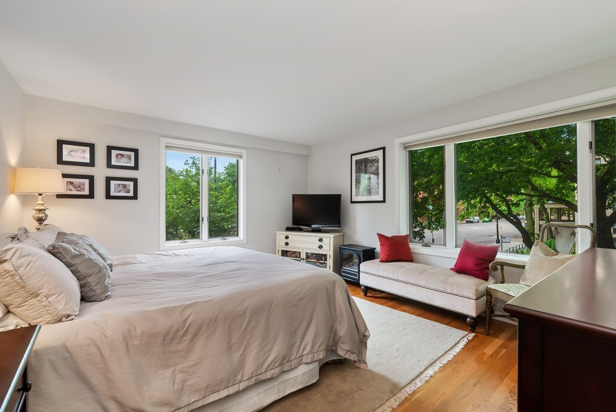 Real Estate Photography - 1720 N. La Salle Drive, Unit 7, Chicago, IL, 60614 - Master Bedroom