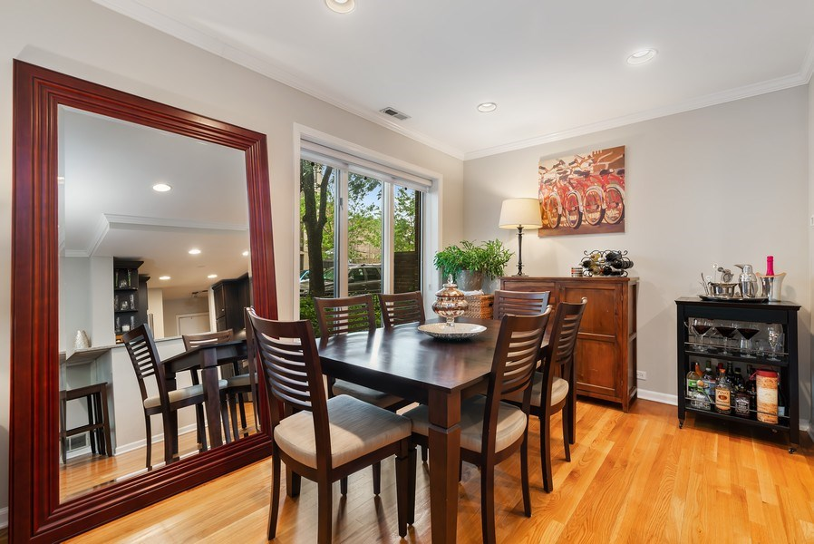 Real Estate Photography - 1720 N. La Salle Drive, Unit 7, Chicago, IL, 60614 - Dining Room