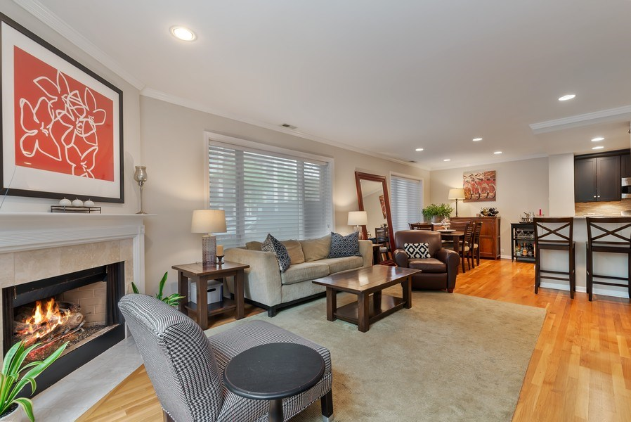 Real Estate Photography - 1720 N. La Salle Drive, Unit 7, Chicago, IL, 60614 - Great Room