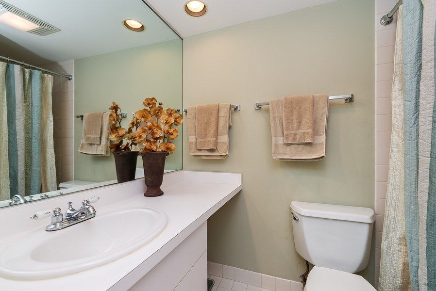 Real Estate Photography - 1720 N. La Salle Drive, Unit 7, Chicago, IL, 60614 - 2nd Bathroom