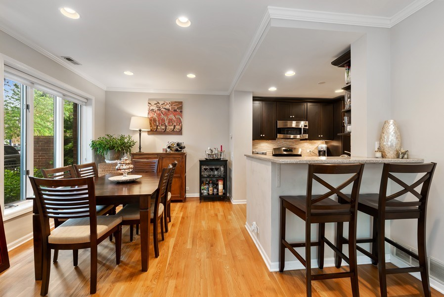 Real Estate Photography - 1720 N. La Salle Drive, Unit 7, Chicago, IL, 60614 - Kitchen / Dining Room