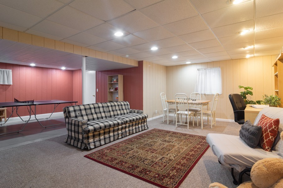 Real Estate Photography - 1339 E. Best Drive, Arlington Heights, IL, 60004 - Lower Level with Room for Recreation & large crawl