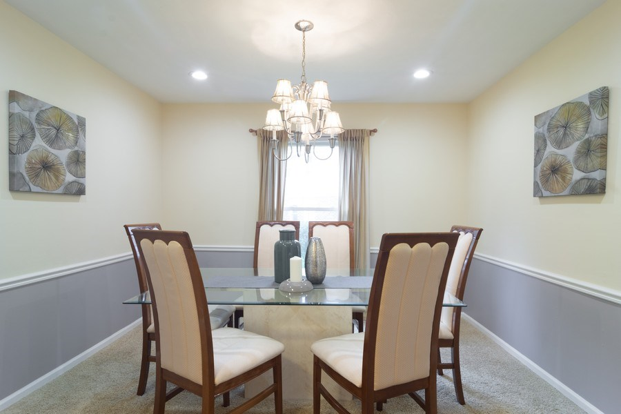 Real Estate Photography - 1339 E. Best Drive, Arlington Heights, IL, 60004 - Separate Dining Room