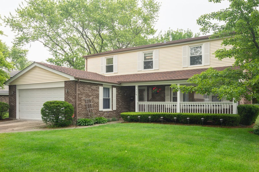 Real Estate Photography - 1339 E. Best Drive, Arlington Heights, IL, 60004 - Front View