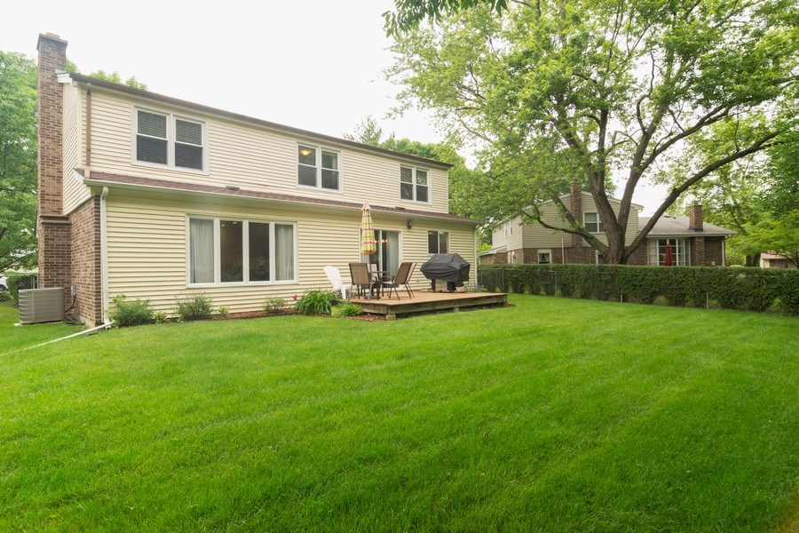 Real Estate Photography - 1339 E. Best Drive, Arlington Heights, IL, 60004 - Rear View