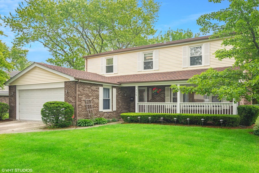 Real Estate Photography - 1339 E. Best Drive, Arlington Heights, IL, 60004 - Exterior Front has Classic Appeal