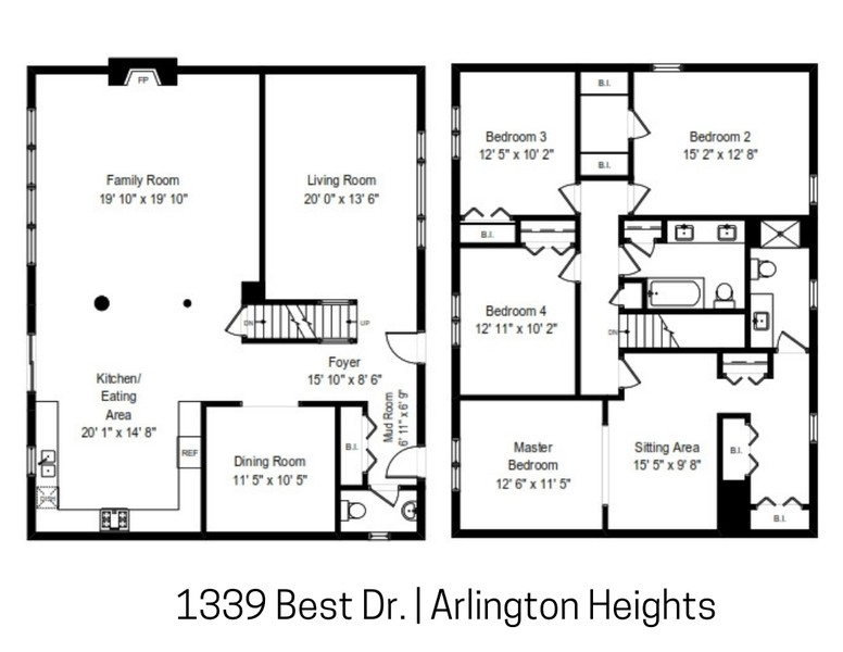 Real Estate Photography - 1339 E. Best Drive, Arlington Heights, IL, 60004 -
