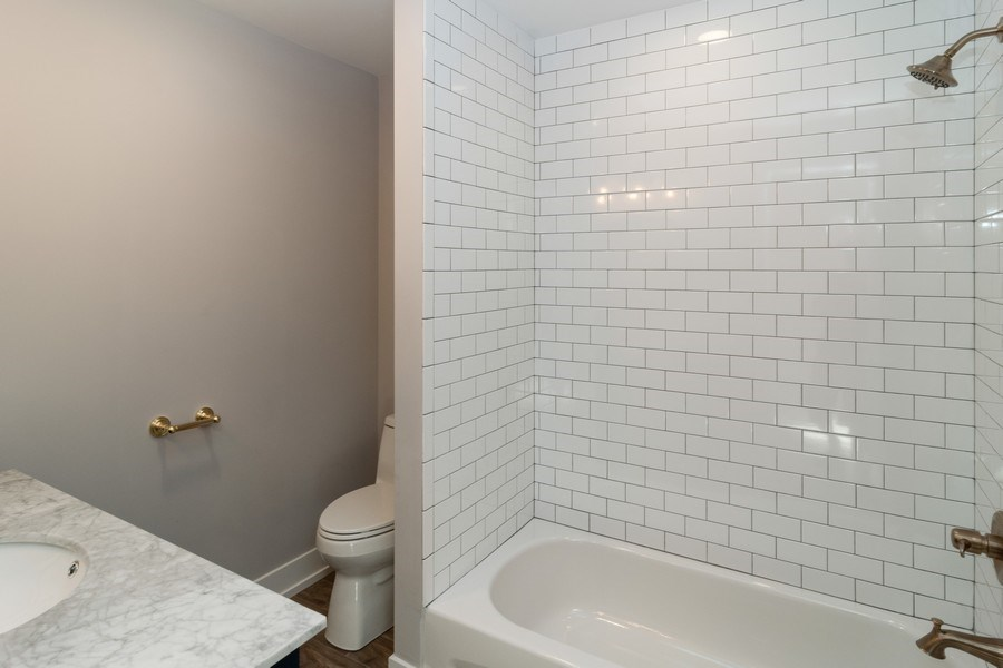 Real Estate Photography - 1023 Marengo Avenue, Forest Park, IL, 60130 - 2nd Bath
