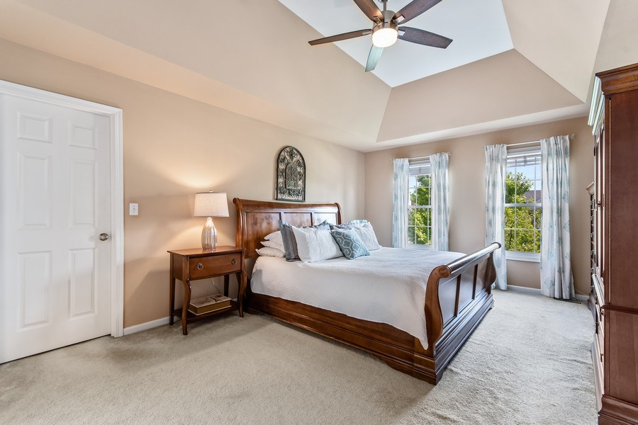 Real Estate Photography - 40W186 Jack London Street, St. Charles, IL, 60175 - Master Bedroom