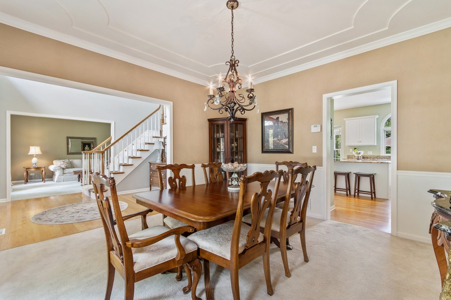 Real Estate Photography - 40W186 Jack London Street, St. Charles, IL, 60175 - Dining Room